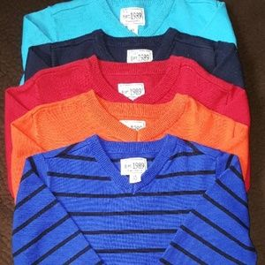 Set of 5 Children's Place Sweaters